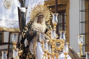 Virgen de la Piedad del baratillo, semana santa en Sevilla