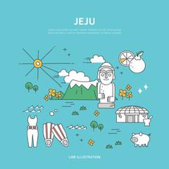 Jeju line layer set