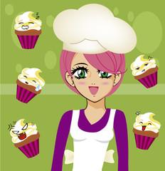 manga girl chef 3