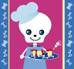 skull boy chef