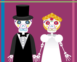 wedding between skeletons 2