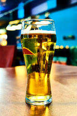 photo of beer in glass