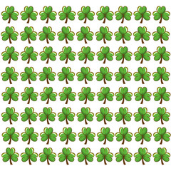 clover patrick's day icon