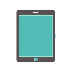Tablet computer icon