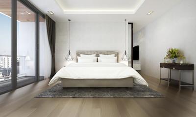 The Interior Design Of Luxury Bedroom