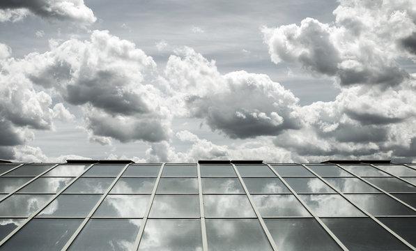 glass roof sky
