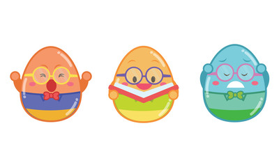 Geek easter egg style collection