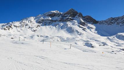 pista da sci in Valtournanche