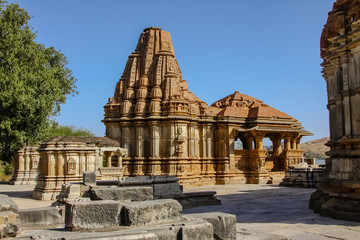 Eklingji temple complex, Rajasthan, India