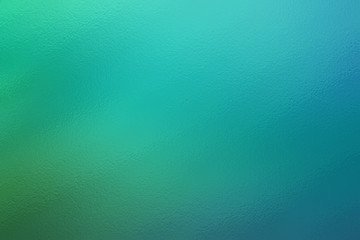 Turquoise abstract glass texture background or pattern, creative design template