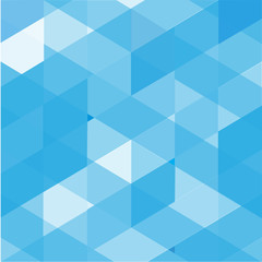 Blue polygon background abstract background vector
