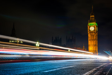 Big Ben, Westminster, London, UK - Stock image