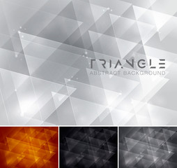 triangle abstract background 3