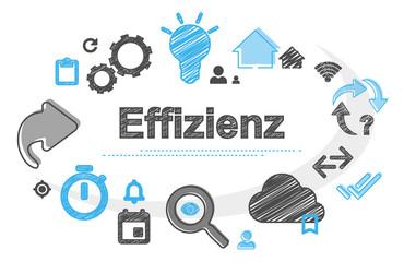 Effizienz | Scribble Concept