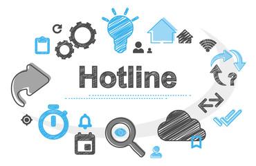 Hotline   Scribble Concept