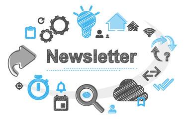 Newsletter | Scribble Concept