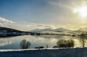 Scenic view, Tromsø, Norway