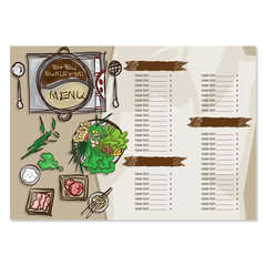 shabu sukiyaki objects menu drawing graphic  design illustrate  template
