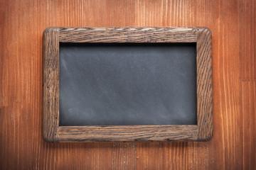 Chalkboard wood grunge rero rustic empety copy space