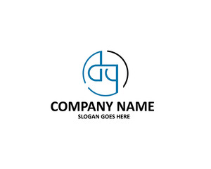 DG Letter Logo