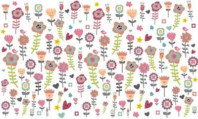 Flores de colores 2.