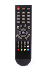 Remote control for TV (Clipping path)