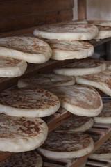 Turkish flatbread , bazlama