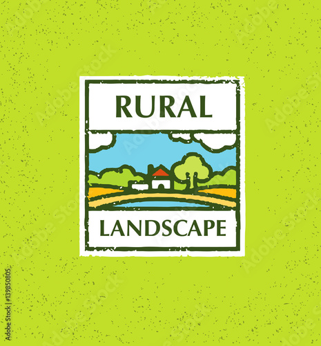 Agriculture and farming agribusiness rural landscape for Rural landscape design