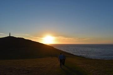 Sunset at Cornwall