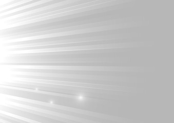 Vector : Abstract gray stripe on white background