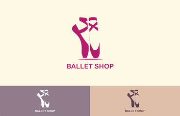 ballet shop equipment logo