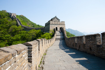 Foto op Canvas Chinese Muur Mutianyu Section of the Great Wall of China