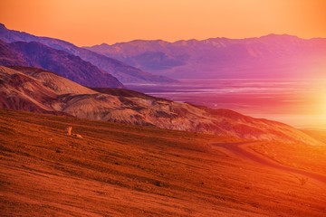 Wall Mural - Sunset Scenery of Death Valley