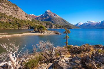 Foto op Canvas Zalm Bariloche landscape in Argentina