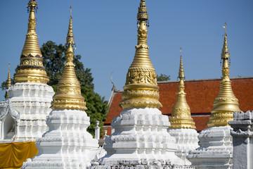 THAILAND LAMPANG WAT CHEDI SAO LANG TEMPLE