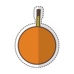 passion fruit fresh fruit drawing icon vector illustration design