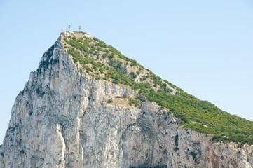 Rock of Gibraltar Western Face
