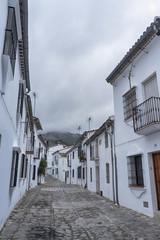 bonitas calles del municipio andaluz de Grazalema en la provincia de Cádiz, Andalucía