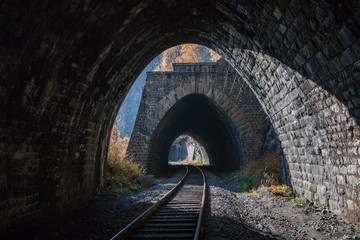 View from the tunnel