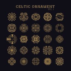 celtic ornament set