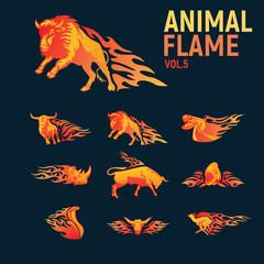 animal flame
