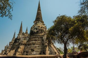 AYUTTHAYA, THAILAND Ruins and Antiques at the Ayutthaya Historical Park