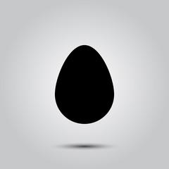 egg vector icon
