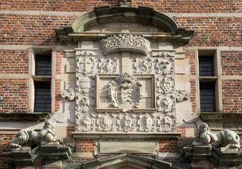 Details of friederiksborg castle