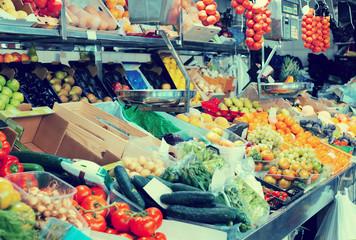 Many organic produce