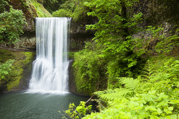 Lower South Falls, Silver Falls State Park, Oregon, USA