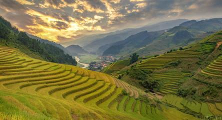 Smooth symbolize the city's Mu cang chai,Yenbai,Vietnam.