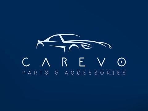 Modern sports car logo vector illustration.