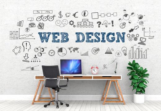 Web Design / Office / Wall / Symbol