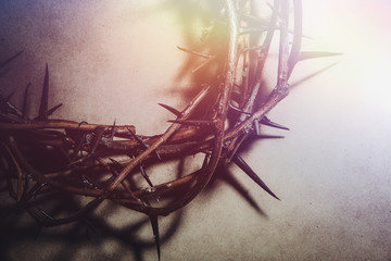 Jesus Christ crown of thorns Wall mural